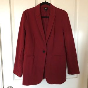 Women's Blazer burgundy